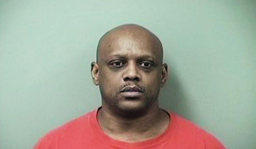 This photo provided by the Saginaw County Sheriff's Department shows Ralph Butler. The Michigan man who authorities say fatally stabbed a friend more than 50 times and cut off his fingers before dumping his body in a field has been convicted of second-degree murder. The Saginaw News reports a jury returned the verdict Wednesday, May 16, 2018, in the case against 51-year-old Butler. He faces the possibility of life in prison when sentenced. (Saginaw County Sheriff's Department/Saginaw News via AP)
