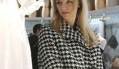 Delphine Arnault is a French businesswoman, director and executive vice president of Louis Vuitton. She is the oldest child of French business magnate Bernard Arnault. Net worth: $4 Billion. (AP Photo/Jacques Brinon)