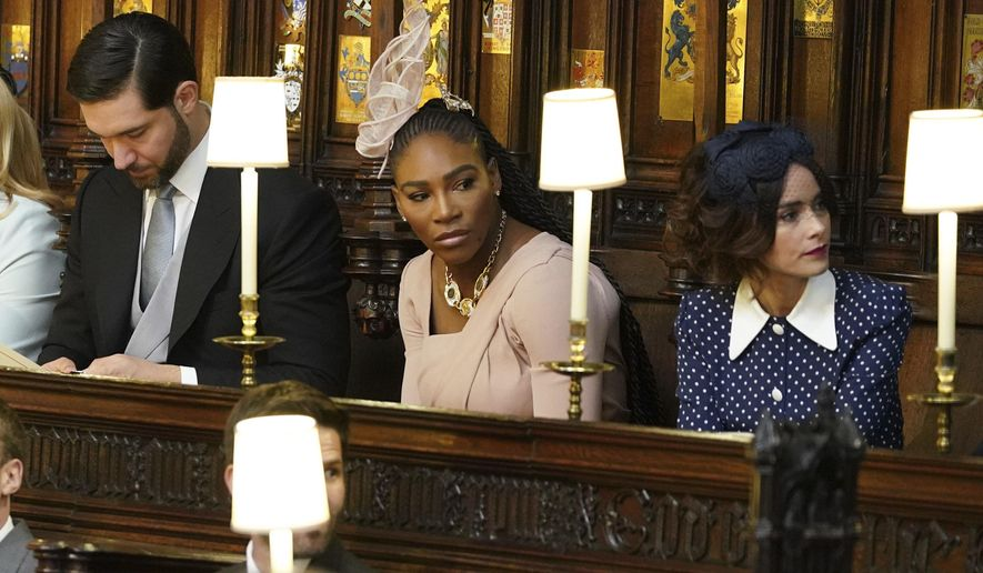 Image result for serena williams at royal wedding