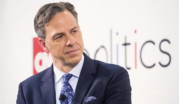 Jake Tapper attends Politicon at The Pasadena Convention Center on Saturday, Aug. 29, 2017, in Pasadena, Calif. (Photo by Colin Young-Wolff/Invision/AP) **FILE**