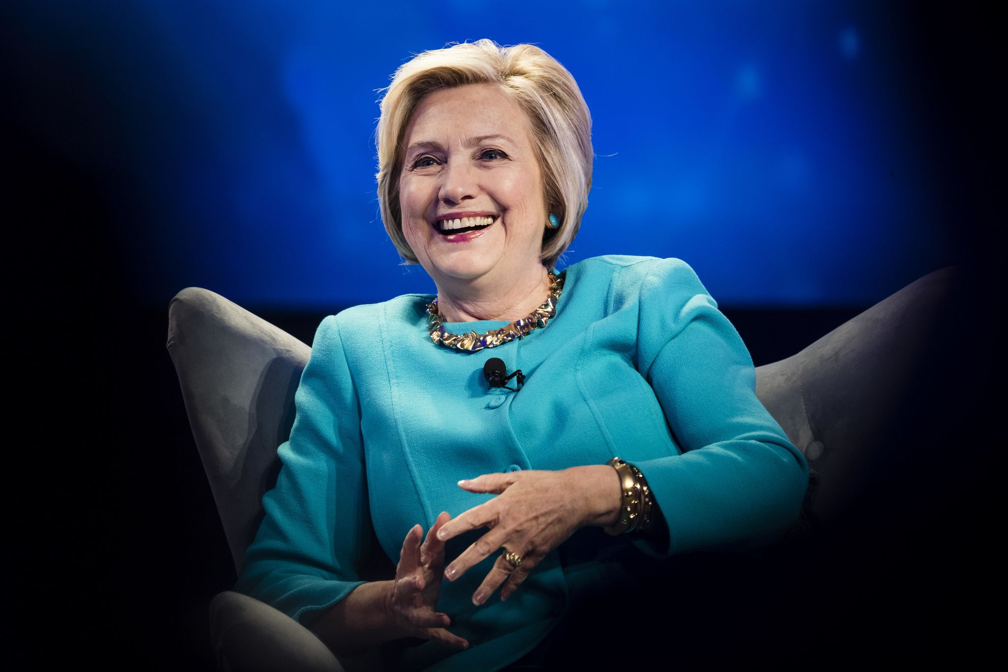 Hillary Clinton Democratic Party's face of 2018