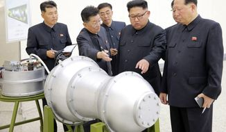 The North Koreans have selectively modernized their 1 million-troop military and regard nuclear weapons as the most effective way to prevent an attack from the United States. (Associated Press/File)