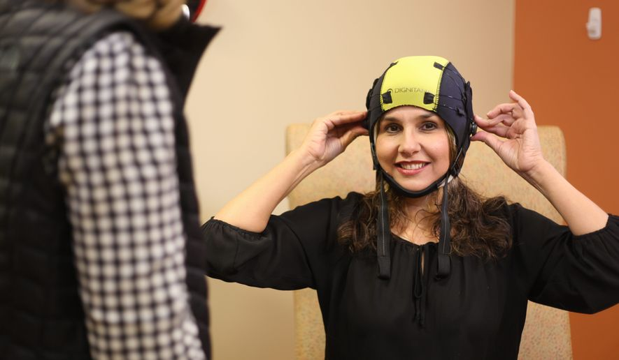 Scalp cooling is a technology to prevent hair loss for cancer patients undergoing chemotherapy and involves placing a large cap during treatment, which is cooled to a temperature below freezing. (DigniCap)