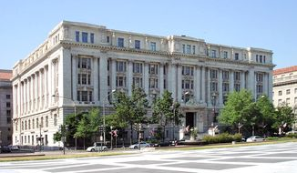 The John A. Wilson Building, which houses the District of Columbia's City Council and mayoral offices, is shown here via this Wikimedia Commons photo by Awiseman. (Awisemen/Wikipedia)