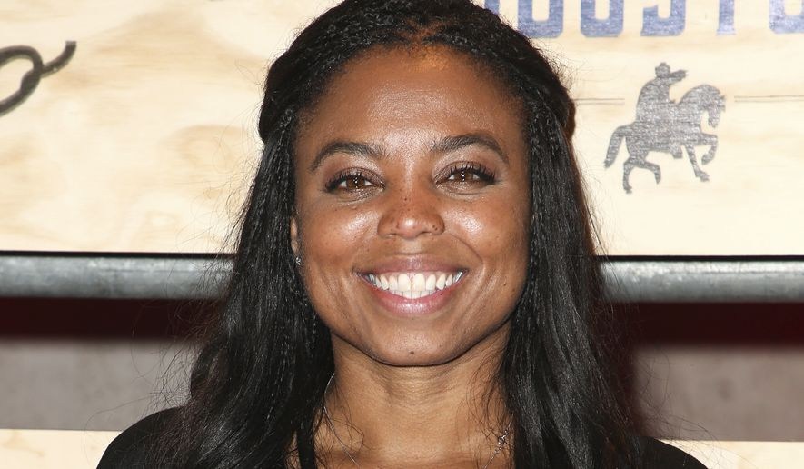 Jemele Hill attends ESPN: The Party 2017 held on Friday, Feb. 3, 2017, in Houston, Texas. (Photo by John Salangsang/Invision/AP)
