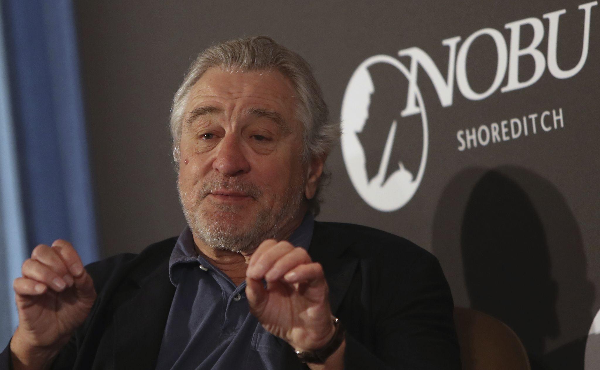Robert De Niro bans Donald Trump from Nobu restaurants
