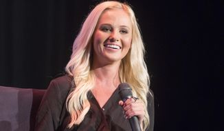 In this Aug. 29, 2017, file photo, conservative commentator Tomi Lahren attends Politicon in Pasadena, Calif. (Photo by Colin Young-Wolff/Invision/AP, File)