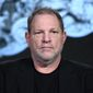 "Executive producer Harvey Weinstein participates in the ""War and Peace"" panel at the A&E 2016 Winter TCA on Wednesday, Jan. 6, 2016, in Pasadena, Calif. (Photo by Richard Shotwell/Invision/AP)"