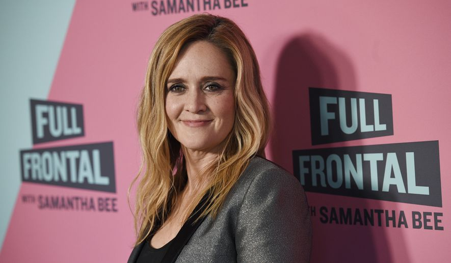 samantha bee vs roseanne equal justice matters washington times