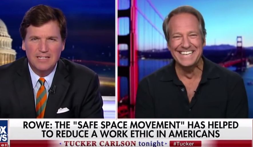 1332e6109ff Mike Rowe: 'Safe space movement' is harming our culture: 'Let's just ...