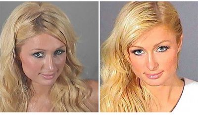 Paris Hilton was booked in Los Angeles in June 2007 after violating terms of a probation sentence imposed following a drunk driving plea.