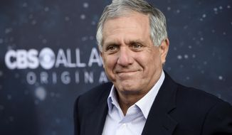 "In this Sept. 19, 2017, file photo, Les Moonves, chairman and CEO of CBS Corporation, poses at the premiere of the new television series ""Star Trek: Discovery"" in Los Angeles. (Photo by Chris Pizzello/Invision/AP, File)"