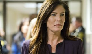 FILE – In this Nov. 10, 2015 file photo, Pennsylvania Attorney General Kathleen Kane leaves after her preliminary hearing at the Montgomery County Courthouse in Norristown, Pa. On Friday, May 25, 2018, an appeals court upheld the conviction of the former state attorney general for leaking secret grand jury information and lying about it, saying among other things she wasn't entitled to use evidence of a pornographic email scandal in her defense. (AP Photo/Matt Rourke, File)
