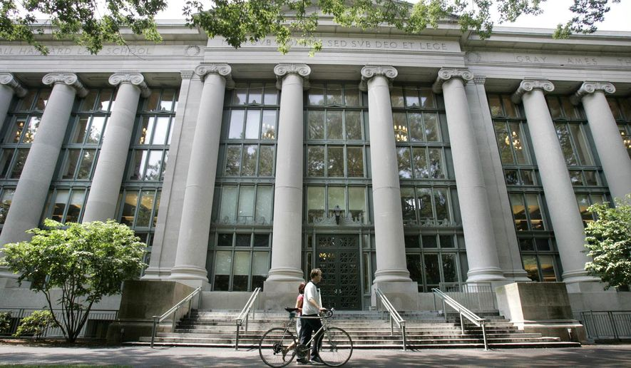 A recent editorial in the Harvard Crimson, the student publication of Harvard University, calls for more acceptance of conservative students. (Associated Press)