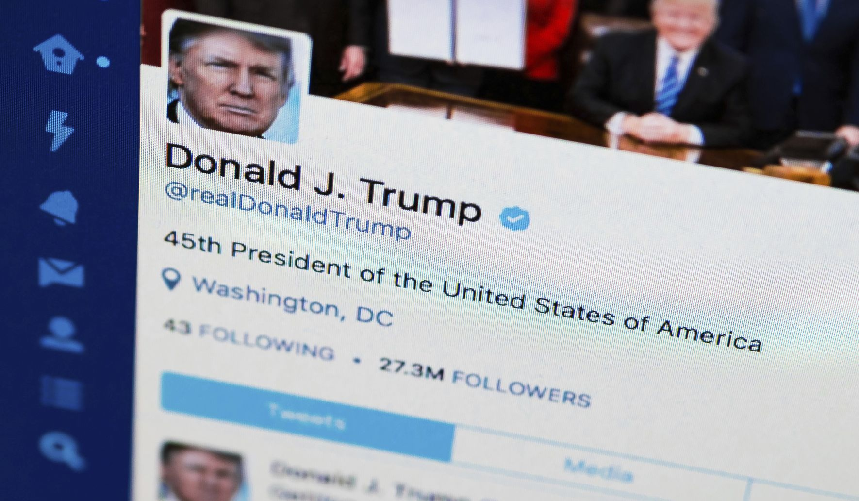 Donald Trump tweeting nearly twice as much as at start of his presidency: Report
