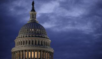 In this March 30, 2017, photo, the Capitol Dome is seen at dawn in Washington. (AP Photo/J. Scott Applewhite) **FILE**