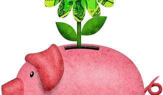 Growing Prosperity of Community Banks Illustration by Greg Groesch/The Washington Times
