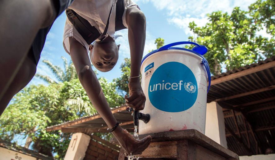 The World Health Organization counts 58 cases and 27 deaths in the Democratic Republic of Congo's outbreak of Ebola, which is transmitted from wild animals to people and spreads human-to-human via the bodily fluids of infected people. WHO officials said they are worried about a fast spread of the deadly disease to other population centers. (ASSOCIATED PRESS)