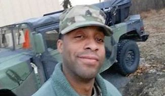 Howard County police confirmed that the body of the man who was reported missing in Ellicott City during the flood Sunday, May 27, 2018, was found in the Pataspco River over the Baltimore County line. Eddison Alexander Hermond, 39, of Severn, was last seen in the area of La Palapa near Lot D on Main Street at approximately 5:20 p.m. Sunday. His body was found on Tuesday, May 29, 2018. (Image courtesy of the Howard County Police Department)