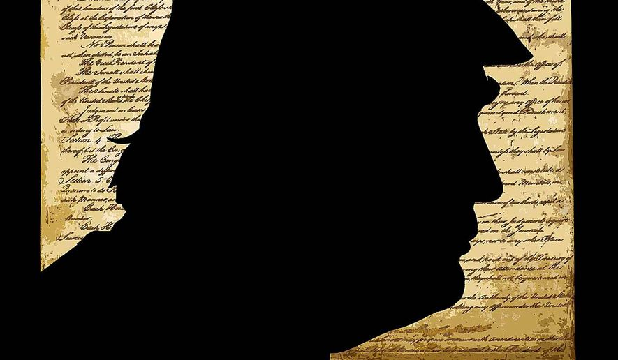 Constitutional Crasis Illustration by Greg Groesch/The Washington Times