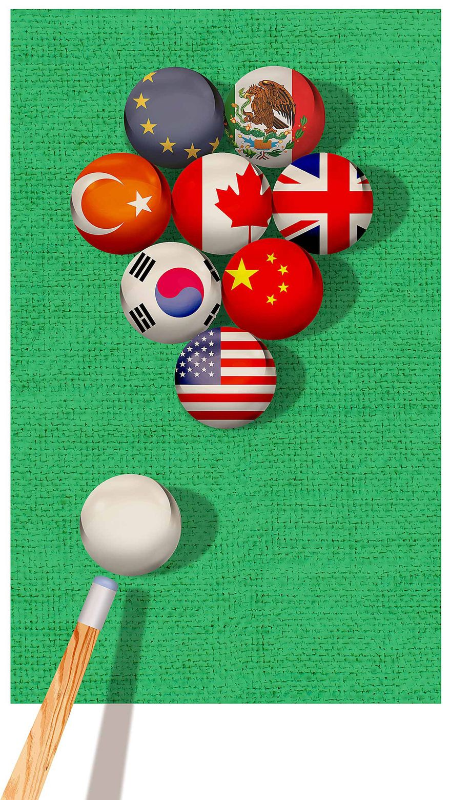Trade Strategy Illustration by Greg Groesch/The Washington Times
