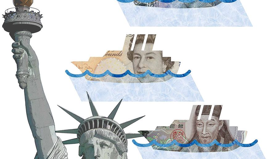 Foreign Investment from the EB-5 Visa Program Illustration by Greg Groesch/The Washington Times