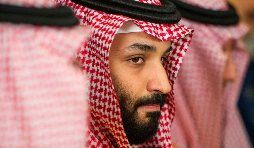 Saudi Crown Prince Mohammed bin Salman has been keeping out of the limelight for the past month, with public sightings of him becoming rare. The crown prince has become a target of propaganda connected to Iran where stories erroneously report his death. (Associated Press)