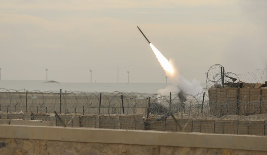 Since its arrival in October, the High Mobility Artillery Rocket System has provided crucial fire support to Afghan National Defense and Security Forces conducting combat missions against the Taliban. (U.S. Marine Corps)