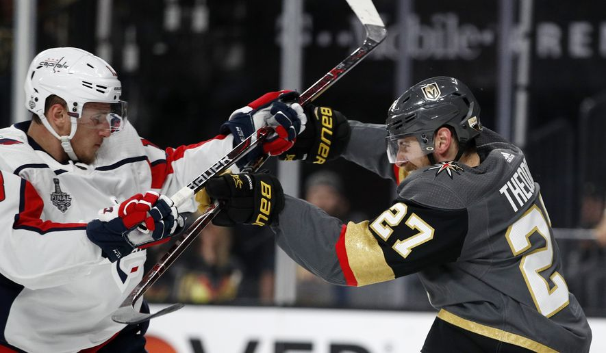 68587a37353 Capitals even series with franchise s first win in Stanley Cup Final ...