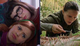 "Sarah Gilman and Sarah Jeffery star in ""Daphne & Velma"" and Natalie Portman stars in ""Annihilation,"" now available on Blu-ray."