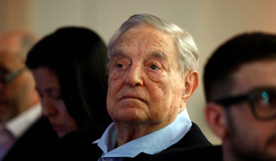 Financier George Soros is out of step with what a clear majority of what Hungarians want, says Peter Szijjarto, Hungary's minister of foreign affairs and trade. (Associated Press)
