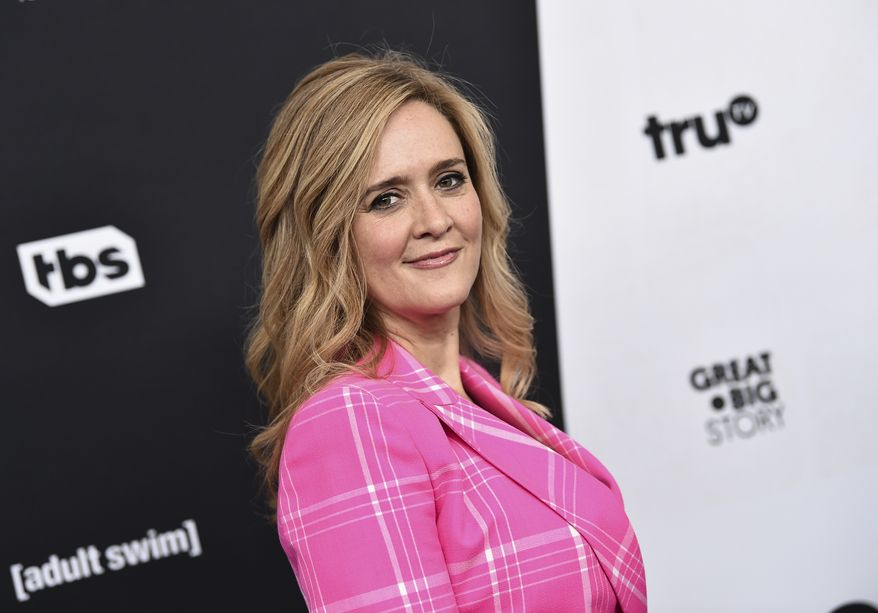 """FILE - In this May 16, 2018 file photo, television host Samantha Bee attends the Turner Networks 2018 Upfront at One Penn Plaza in New York.  Bee is apologizing to Ivanka Trump and her viewers for using an expletive to describe the president's daughter.  Bee issued a statement Thursday that says her language was """"inappropriate and inexcusable."""" She says she crossed a line and deeply regrets it.  (Photo by Evan Agostini/Invision/AP, File)"""