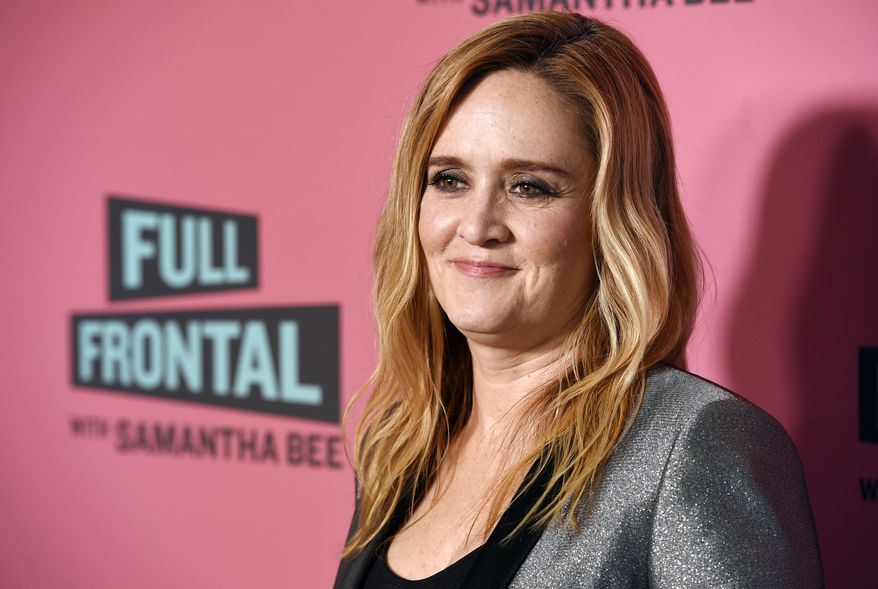 """In this May 24, 2018, file photo, Samantha Bee, host of """"Full Frontal with Samantha Bee,"""" poses at an Emmy For Your Consideration screening of the television talk show at the Writers Guild Theatre in Beverly Hills, Calif. Bee is under fire for referring to Ivanka Trump as a """"feckless c--t"""" on her TBS comedy show. White House press secretary Sarah Sanders on Thursday called Bee's language """"vile and vicious."""" (Photo by Chris Pizzello/Invision/AP, File)"""