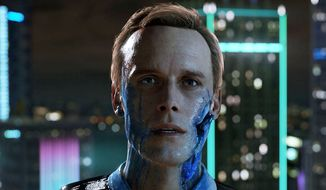 A player controls lifelike androids in the third person interactive story Detroit: Become Human. (Courtesy Sony Interactive Entertainment)