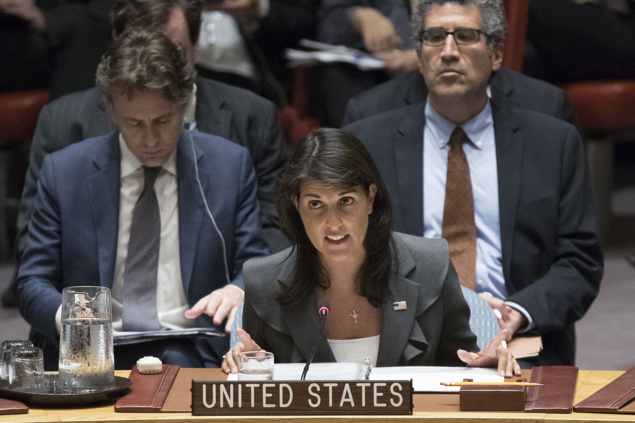 Nikki Haley is killing it at the United Nations