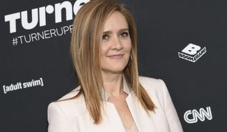 """FILE - In this May 16, 2016 file photo Samantha Bee attends the Turner Network 2016 Upfronts in New York.  Bee is apologizing to Ivanka Trump and her viewers for using an expletive to describe the president's daughter. Bee issued a statement Thursday, May 31, 2018, that says her language was """"inappropriate and inexcusable."""" She says she crossed a line and deeply regrets it. (Photo by Evan Agostini/Invision/AP, File)"""