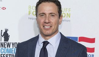 In this Nov. 10, 2015 file photo, Chris Cuomo arrives at the 9th Annual Stand Up For Heroes in New York. (Photo by Michael Zorn/Invision/AP, File)