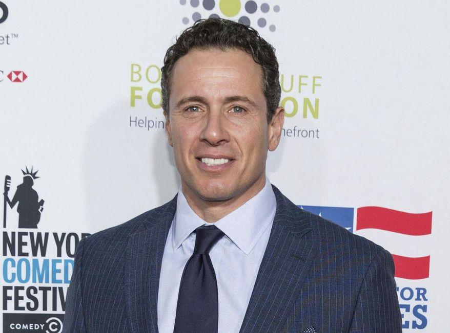 In this Nov. 10, 2015, file photo, Chris Cuomo arrives at the 9th Annual Stand Up For Heroes in New York. (Photo by Michael Zorn/Invision/AP, File)
