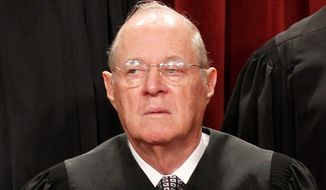 Justice Anthony Kennedy. (Associated Press) ** FILE **