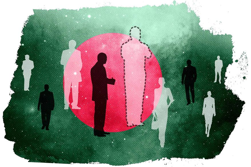 Fake Disappearances Illustration by Greg Groesch/The Washington Times