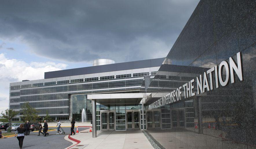 The Defense Intelligence Agency headquarters building in Washington, Thursday, Sept. 29, 2011. (AP Photo/Cliff Owen)
