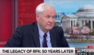 "MSNBC's Chris Matthews talks about the Democratic Party on ""Morning Joe,"" June 5, 2018. (Image: MSNBC screenshot) ** FILE **"