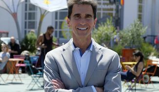 FILE - In this Monday, April 23, 2018, file photo, mayoral candidate Mark Leno poses in the Castro District of San Francisco. San Francisco voters are electing a new mayor in a contest hastily placed on the June 5 ballot after the unexpected death of Mayor Ed Lee in December. San Francisco could make history by electing its first African-American woman, Asian-American woman or openly gay man for mayor. The city has enormous wealth thanks to a flourishing economy led by the tech industry, but it's also plagued by rampant homelessness. This mayor's race is the city's first competitive mayoral race in 15 years. (AP Photo/Eric Risberg)