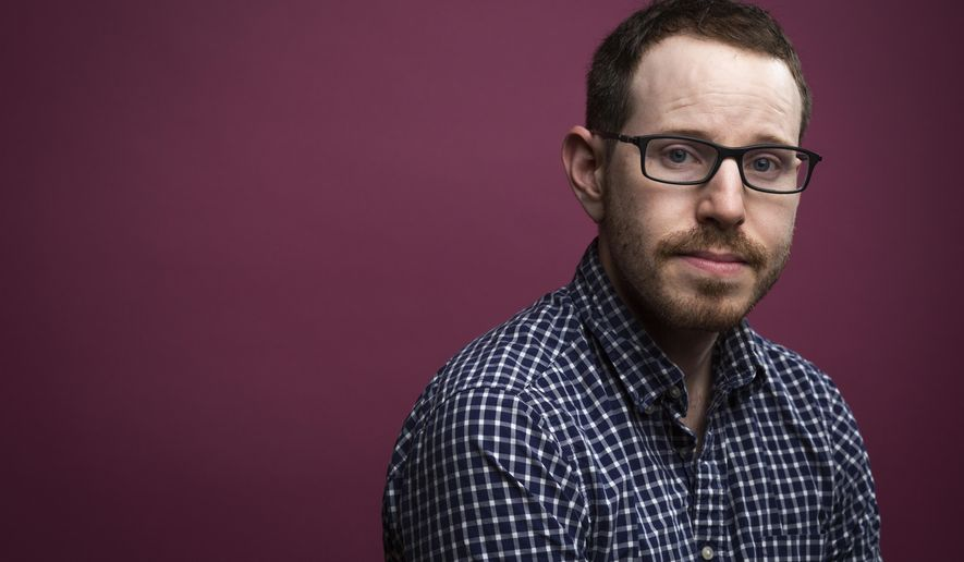 """In this May 21, 2018 photo, director Ari Aster poses for a portrait to promote his film """"Hereditary"""" at the Four Seasons Los Angeles at Beverly Hills in Beverly Hills, Calif. (Photo by Willy Sanjuan/Invision/AP)"""