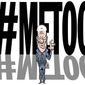 Illustration on reappraising Bill Clinton in light of the #metoo movement by ALexander Hunter/The Washington Times
