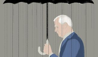 Illustration on Jeff Sessions by Linas Garsys/The Washington Times