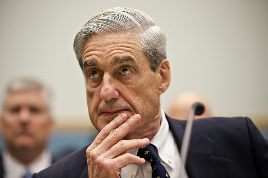 Special counsel Robert Mueller brought an indictment in February against Concord Management and Consulting LLC, as well as a Russian trolling farm company and various Russian operatives. (Associated Press/File)