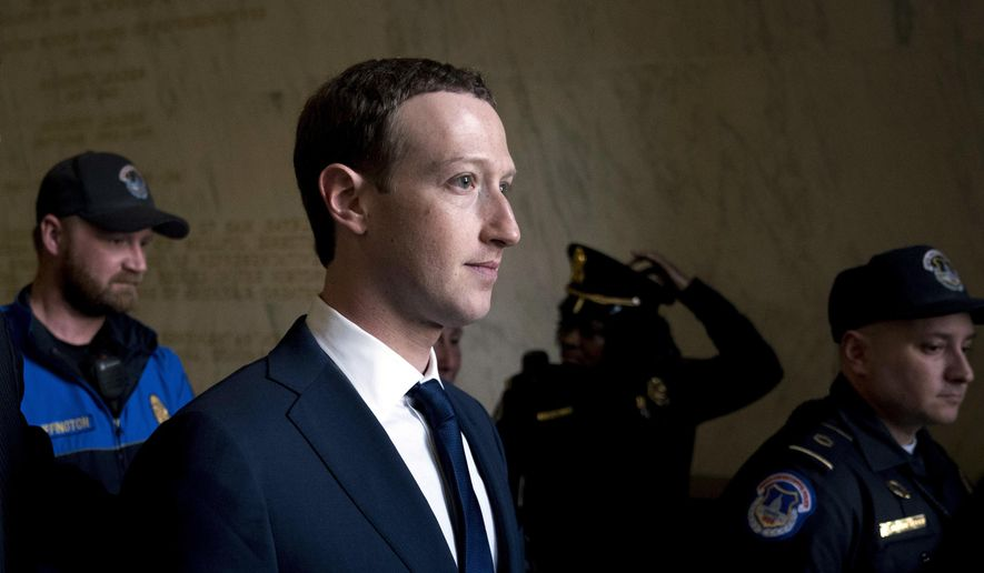 Facebook CEO Mark Zuckerberg recently testified to Congress about the company's data privacy policies. Facebook reportedly acknowledged that it shared user data with several Chinese handset manufacturers, including Huawei, a company flagged by U.S. intelligence officials as a national security threat, Lenovo, Oppo and TCL. (Associated Press/File)
