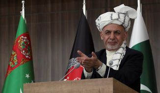 Under the cease fire call from Afghan President Ashraf Ghani, Afghan forces will refrain from carrying out offensive operations until Eid-al-Fitr begins. (ASSOCIATED PRESS)