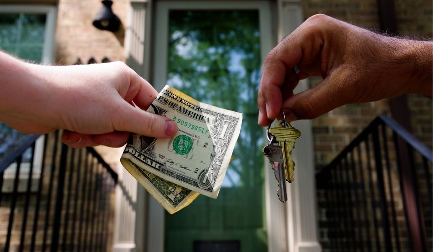 Security experts say the best way to protect yourself from housing scams is to never pay money without meeting the owner at the property. As the summer approaches, more people are likely to fall victim to scam artists posing as landlords in the District. (Julia Airey/The Washington Times)